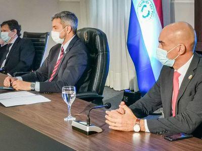 En cumbre de Prosur, Abdo clama por acceso equitativo a vacunas antiCOVID y pide solidaridad de países desarrollados