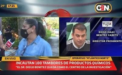 """""""Diego Benítez se está quedando como el centro de la investigación"""""""