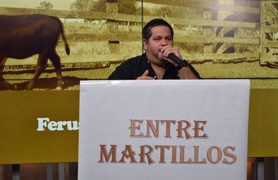 """Entre Martillos realizó un """"rematazo"""" de invernada por televisión"""
