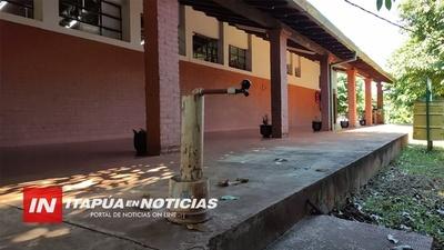 SIN AGUA: ESCUELAS DE ARROYO PORÃ NO INICIARAN CLASES PRESENCIALES.