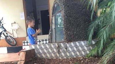 Misael, el niño que reza para curarse de su enfermedad