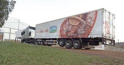 Primera exportación de carne porcina al Uruguay
