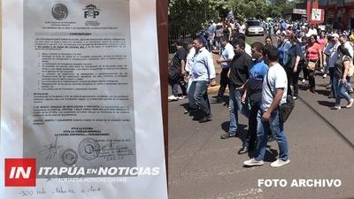 DOCENTES UNE NO INICIARÁN CLASES Y ANUNCIAN MOVILIZACIÓN PARA EL 2 DE MARZO.