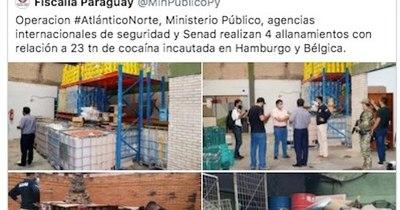 La Nación / Destacan labor de Fiscalía e ignoran a Senad e Interior