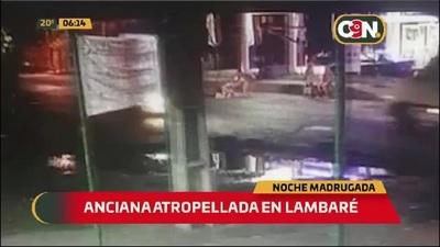 Anciana fue atropellada sobre la Ada. Defensores del Chaco en Lambaré