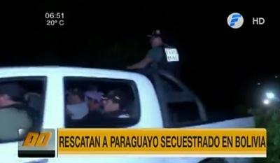 Rescatan a paraguayo secuestrado en Bolivia