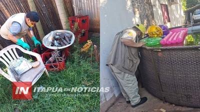 FUNCIONARIOS DE SENEPA REALIZAN VISITAS DE INSPECCIÓN ALEATORIA EN ITAPÚA