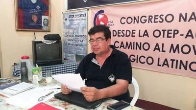 """""""Iniciaremos las actividades donde haya condiciones"""";dijo el secretario general de la OTEP-A Gabriel Espínola – Prensa 5"""