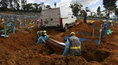Brasil supera las 250.000 muertes por el COVID-19