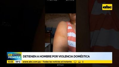 Detienen a un hombre denunciado por violencia doméstica
