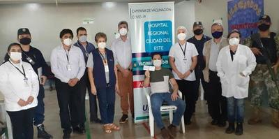 Completan aplicación de 300 vacunas contra el covid en Alto Paraná