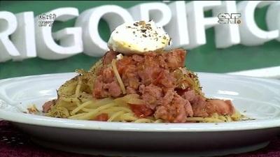Cocina LMCD: Boloñesa toscana UPISA con spaguetti
