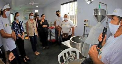 La Nación / Habilitan centro de capacitación y producción para potenciar emprendimientos en Areguá
