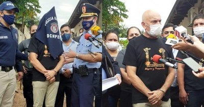 La Nación / Entre lágrimas, capitán de Bomberos clama no ser enviado a prisión