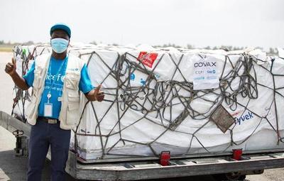 Covax: más de 500 mil dosis de la AstraZeneca fueron enviadas a Costa de Marfil