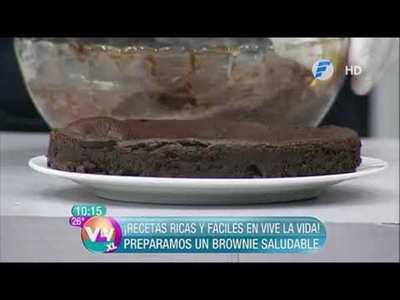 Brownie saludable y Tacos de Garbanzos, Carne de Soja y Chorizos