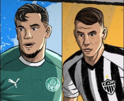 Gómez y Alonso, los mejores centrales en Brasil