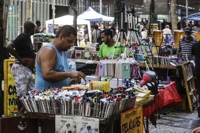 El desempleo en Brasil fue del 13,5 % en 2020, el mayor desde 2012