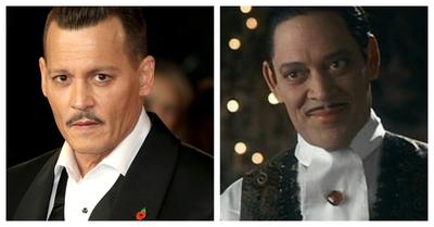 Artista alemán imagina a Johnny Depp como Homero Addams y el actor parece nacido para el papel