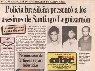 Crimen de Santiago Leguizamón va a Corte Interamericana