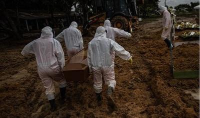 Brasil sumó más de 1.500 muertes por coronavirus en 24 horas y superó las 250 mil en total