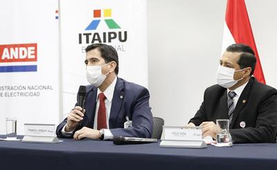 ITAIPU otorga USD 203 millones a la ANDE para fortalecer el sistema eléctrico paraguayo.