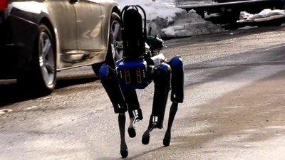 Spot, el perro robot que ya es policía y patrulla las calles de Nueva York