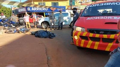 Motociclista muere arrollado por camión que ingresó de contramano