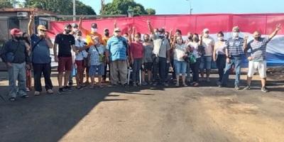 En Itapúa se renuevan las protestas por subsidios a comerciantes fronterizos
