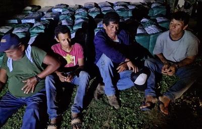 Imputan a cuatro personas tras la incautación de 1344 kilos de cocaína