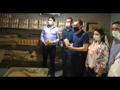 CASTIGLIONI VISITÓ INDUSTRIAS Y SITIOS DE FUTUROS PROYECTOS EN ITAPÚA