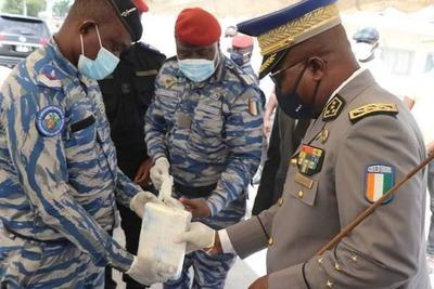 Carga de cocaína incautada en Costa de Marfil está evaluada en US$ 46 millones