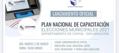 Capacitación sobre financiamiento político y voto electrónico llega al interior del país