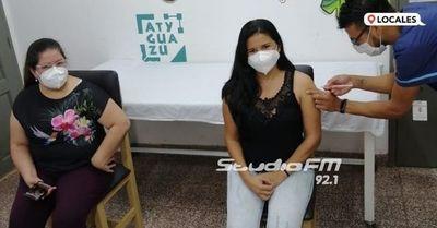 Las 200 vacunas contra el COVID-19 ya fueron aplicadas en su totalidad en Itapúa