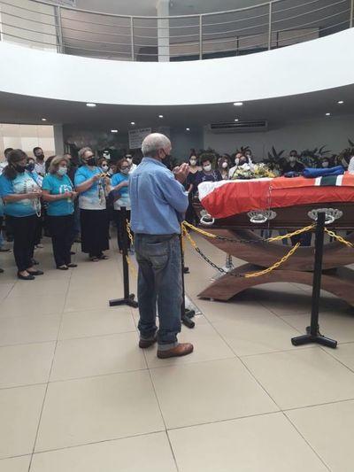 La ciudadanía da su último adiós a un hijo ilustre de Pedro Juan y del país