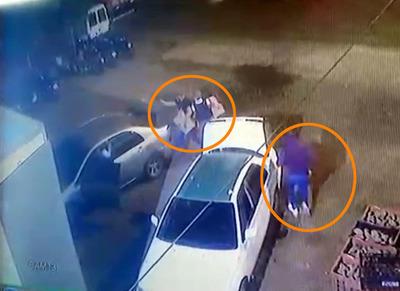 En asalto tipo comando cuatro malvivientes se alzaron con mercaderías