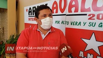 ARIEL AVALOS BUSCARÁ LA INTENDENCIA DE ALTO VERÁ POR CONCORDIA COLORADA