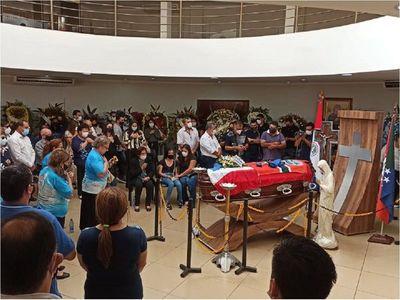 Una multitud despidió al diputado Robert Acevedo en Amambay