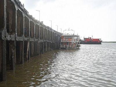 Sigue tendencia decreciente del río Paraguay