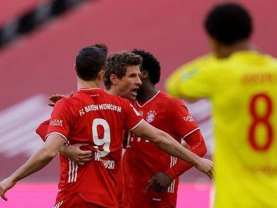 Doblete de Lewandowski  para el Bayern y Reinier marca para el Dortmund