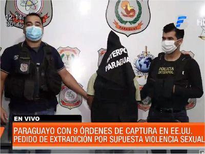 Cae paraguayo buscado en EEUU por 9 casos de agresión sexual