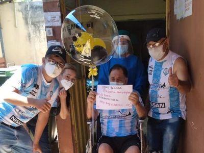 Dan de alta al hermano de don Joel Oviedo tras curarse del coronavirus