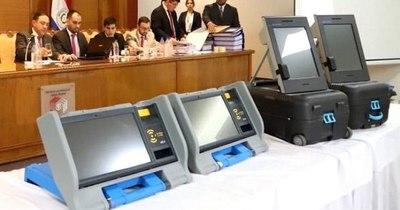 La Nación / TSJE se alista para el voto electrónico y financiamiento político