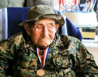 Falleció  último excombatiente de San Pedro del Paraná a los 107 años