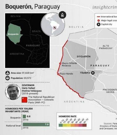 Paraguay democratizó el crimen y el dinero sucio financia campañas