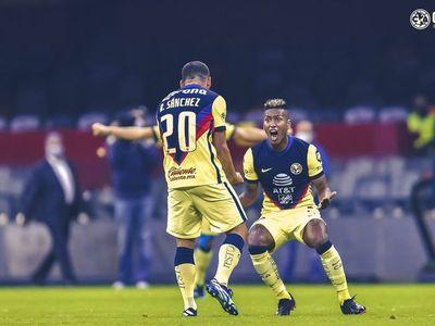 Fantástico gol de Sánchez en México