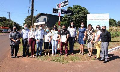 Nombran calle en honor a Selva Orrego