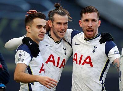 Bale sonríe con el Tottenham