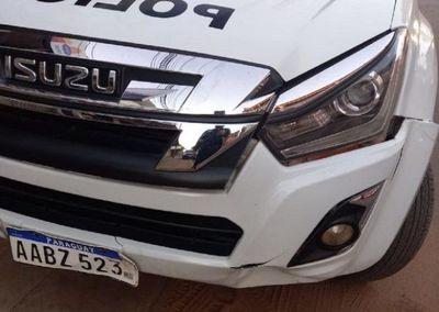 Patrullera de la Policía involucrada en fatal accidente en San Lorenzo