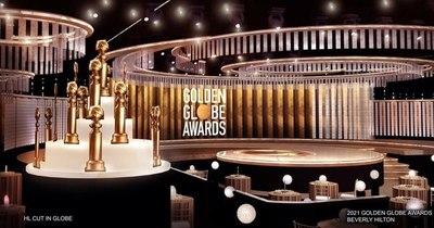 La Nación / Globos de Oro arrancan temporada de premios de Hollywood en era pandémica
